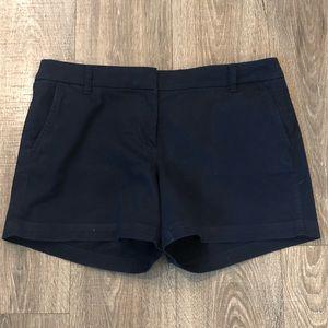 "J Crew Navy 3"" Shorts Size 12"